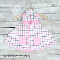 Jual- Baby Cape Check Pink