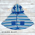 Jual- Baby Cape Stripe Blue
