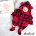 Jual- BabyCape CheckRed(1)
