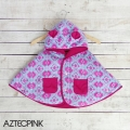 Jual- BabyCape Printed AztecPink