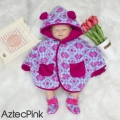 Jual- BabyCape Set Booties AztecPink