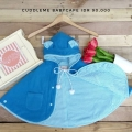Jual- BabyCape Solid Blue
