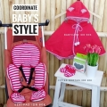 Jual- coordinate style red