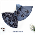 jual-babycape- Birds Black
