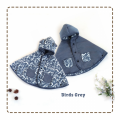 jual-babycape- Birds Grey