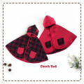 jual-babycape- Check Red