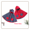 jual-babycape- Flower Navy