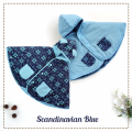 jual-babycape- Scandinavian Blue