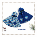 jual-babycape- Stripe Blue