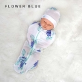 bedong-instan-cuddleme- Flower Blue