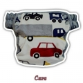 2. Clodi Ecobum Pull Up Pant Minky Cars - Motif Boy