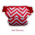 19. Clodi Ecobum Red Chevron - Motif Unisex