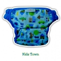 NEW 16. Clodi Ecobum Pull Up Pant  PUL Kids Town- Motif Unisex