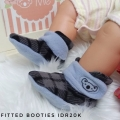 Jual Fitted Booties Monochrome