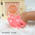 Jual- Fitted Booties Orange Star