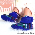 Jual- Fitted Booties Scandinavian Blue