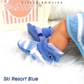 Jual- Fitted Booties Ski Resort Blue