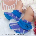 Jual- Fitted Booties stripe blue