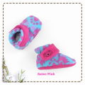 fitted-booties-prewalker- Aztec Pink Motif