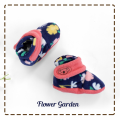 fitted-booties-prewalker- Flower garden