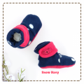 fitted-booties-prewalker- Snow Nany Motif