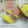fitted-booties-prewalker- Tree Yellow