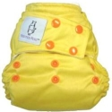 clodi moo moo kow snap motif bright-yellow