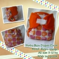 clodi nathabam newborn velcro retro_orange
