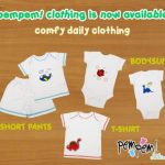 Baju Bayi Pempem | Bodysuit | T-Shirt | Shortpants