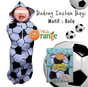 bedong_instan_orange_motif_bola