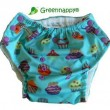 greennappy pull up pant cupcake